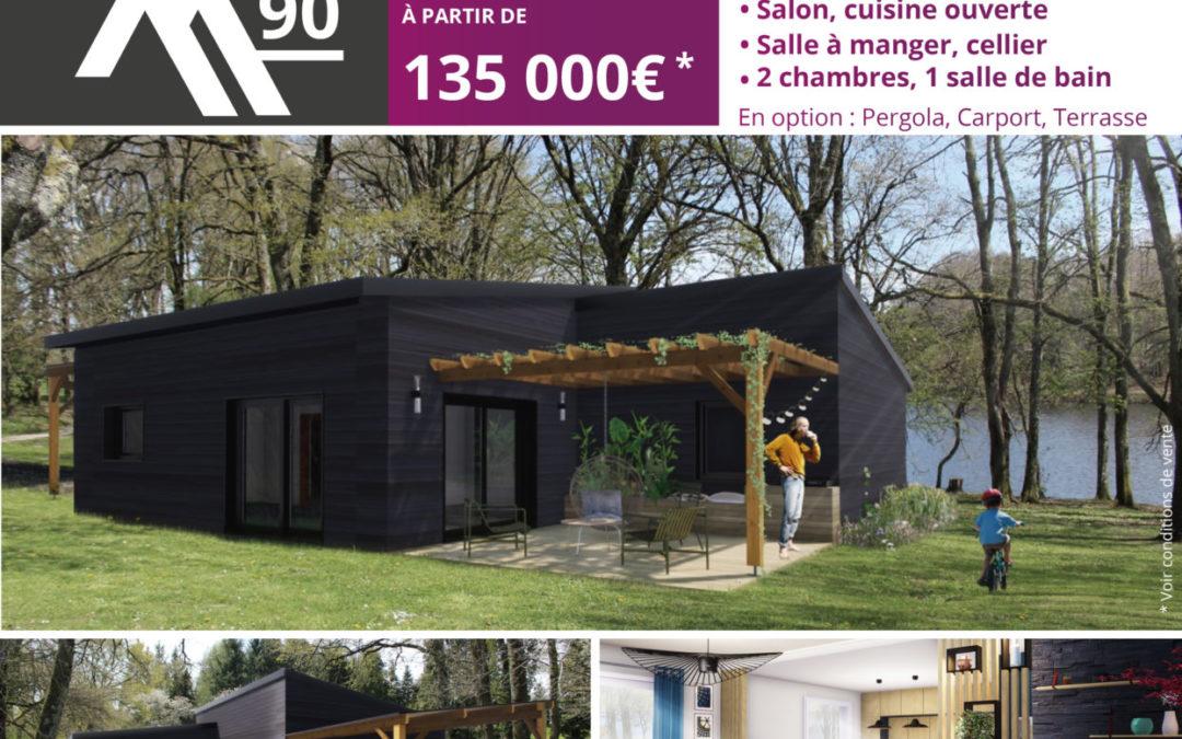 La maison de vos envies à partir de 135 000 euros