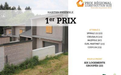 Prix régional de la construction bois Nouvelle-Aquitaine 2018