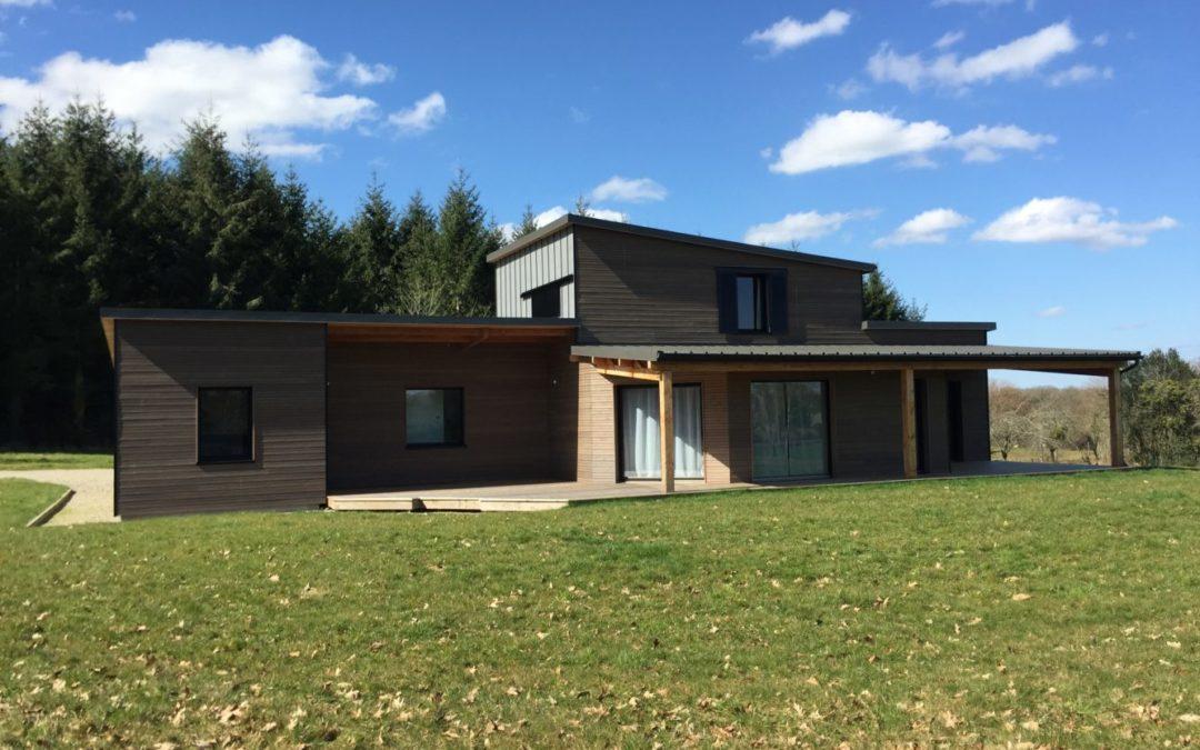 Maison ossature bois – AZERABLES 23
