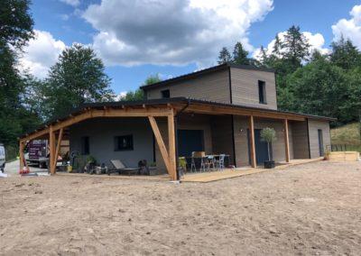 Maison ossature bois –  COMPREIGNAC 87