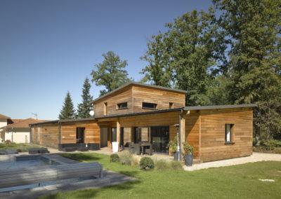 Maison ossature bois – PANAZOL 87