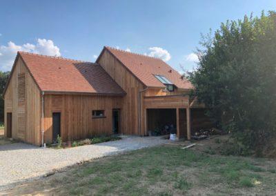 Maison ossature bois – SARDENT 23