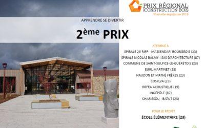Prix régional de la construction bois Nouvelle-Aquitaine 2019
