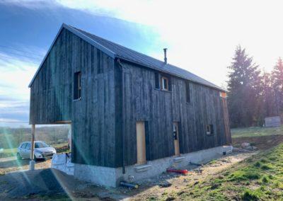 Maison ossature bois/paille – SAINT MEDARD LA ROCHETTE – 23