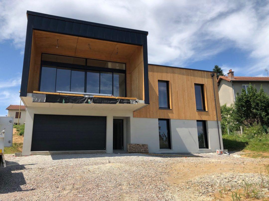 Maison ossature bois – Isle – 87